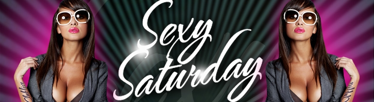 Promotion banner for Sexy Saturday