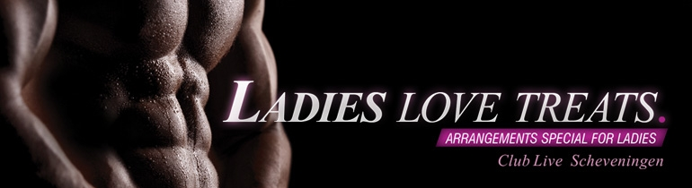 Promotion banner for Ladies arrangementen