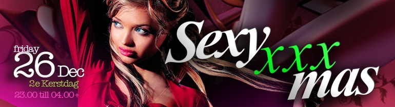 Promotion banner for Sexy XXXmas