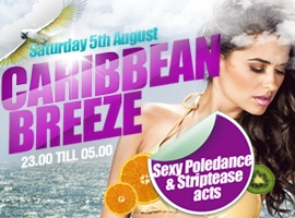 Flyer for Caribbean Breeze
