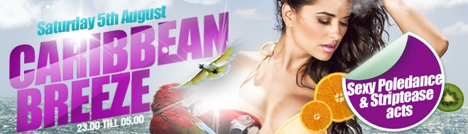 Promotion banner for Caribbean Breeze