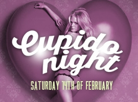 Flyer for Cupido Night