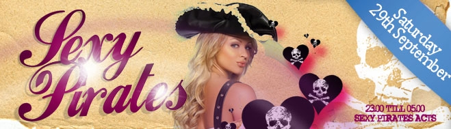 Promotion banner for Sexy Pirates