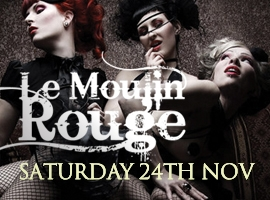 Flyer for Le Moulin Rouge