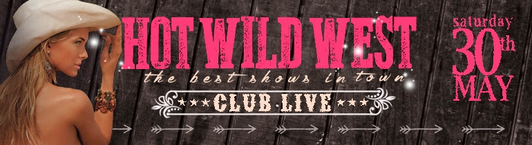 Promotion banner for Hot Wild West