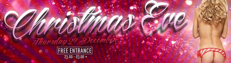 Promotion banner for X mas Eve